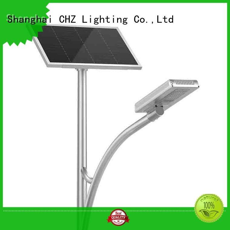CHZ solar powered led street lights wholesale for mountainous