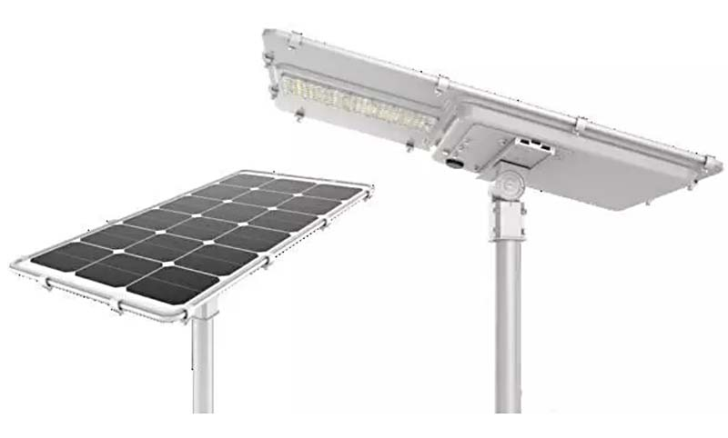 Road Lighting Project With Integrated All In One Solar Street Light