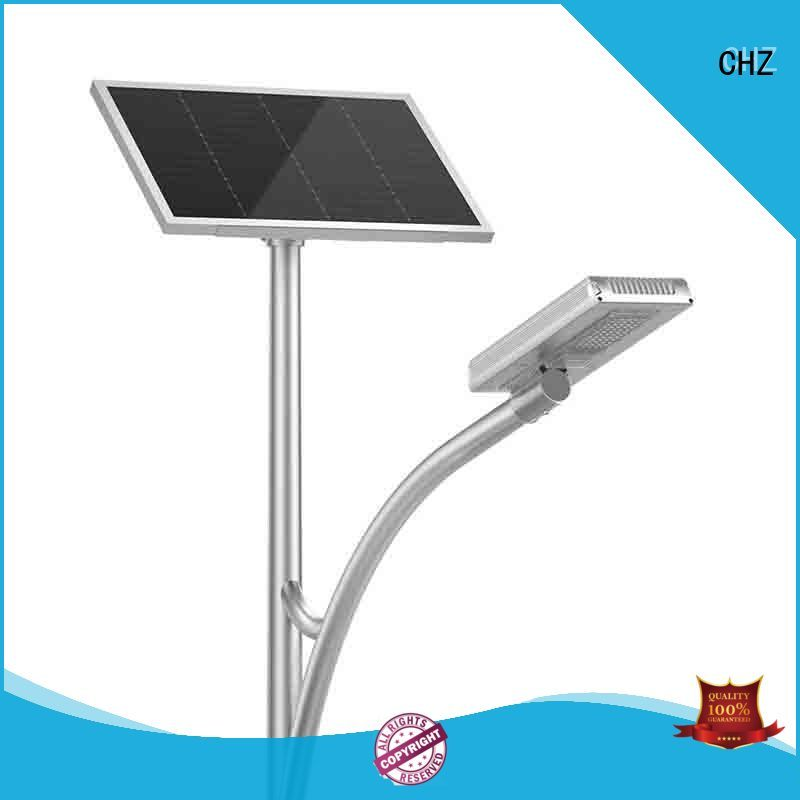 CHZ solar street lighting supplier for park road