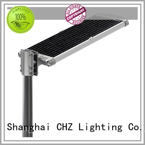 CHZ online solar powered street lights for sale park road