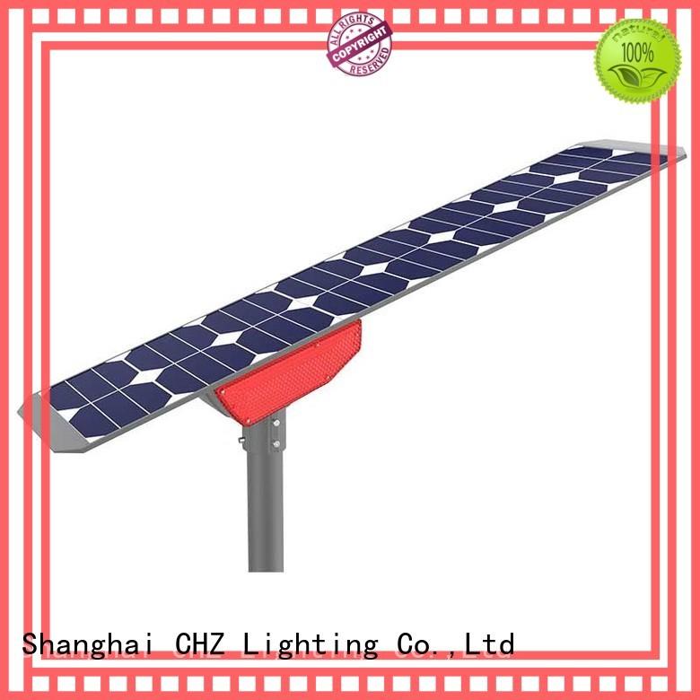 China solar powered street lamp manufacturer factory
