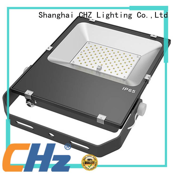CHZ flood lighting maker stair corridor