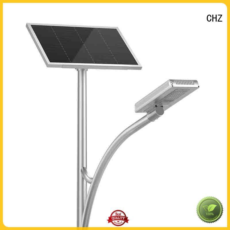 CHZ solar powered led street light series for mountainous