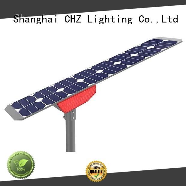 CHZ solar dusk to dawn light factory for yard