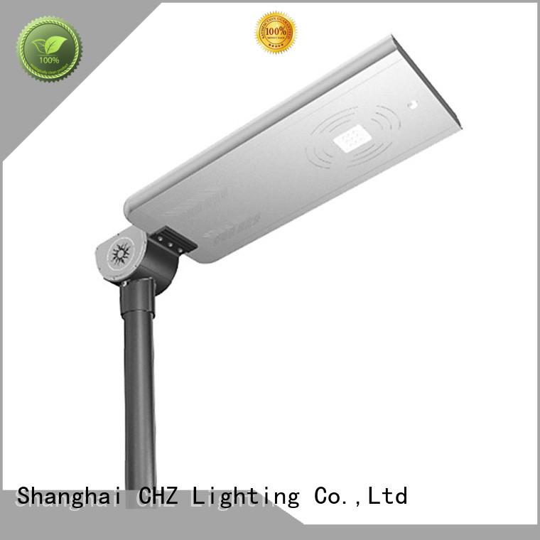 CHZ smart control solar street light products park road