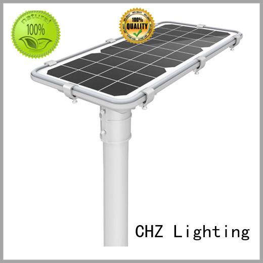CHZ solar powered street lights factory price school
