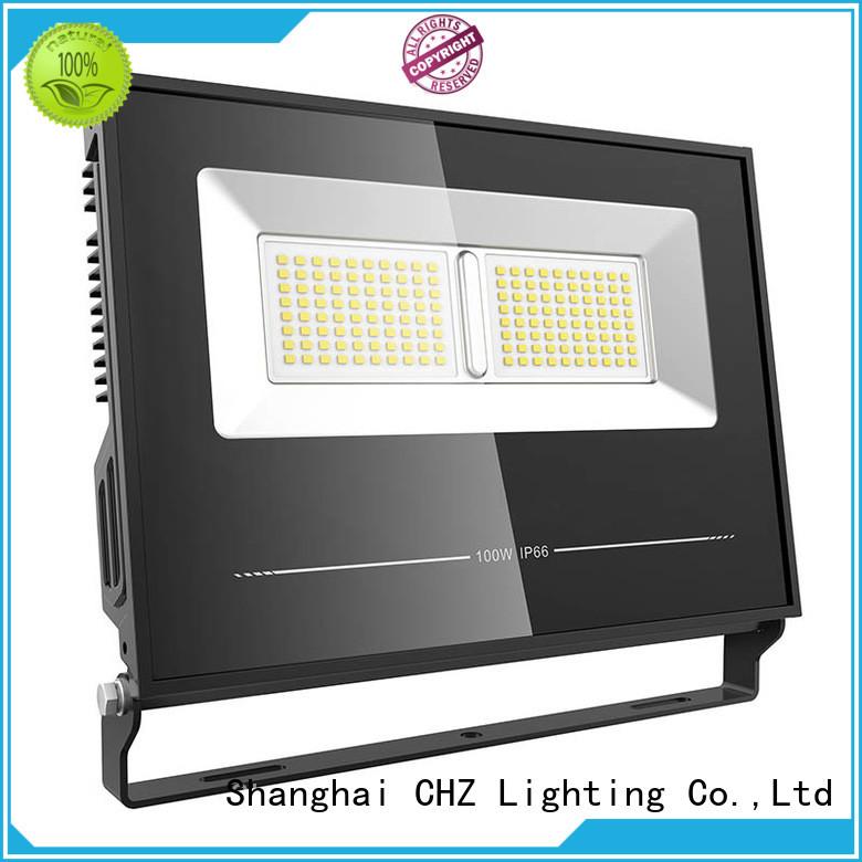 CHZ motion sensor flood lights best supplier for building facade and public corridor