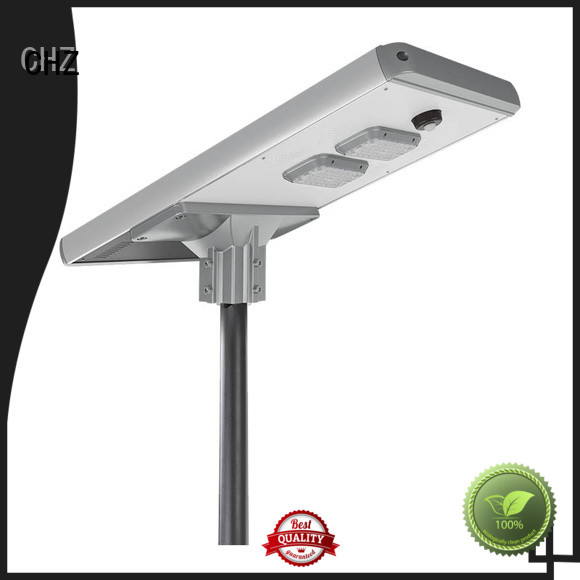 CHZ China solar powered led street lights factory mountainous