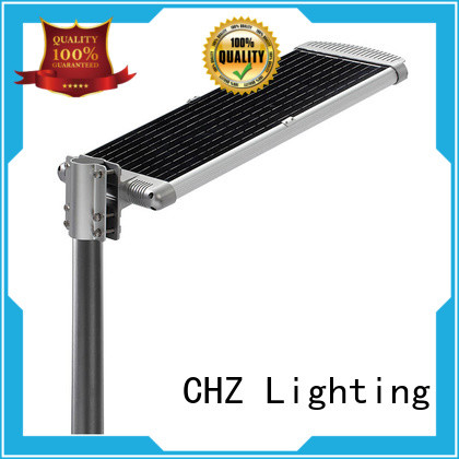 CHZ solar lamp post lights company for yard