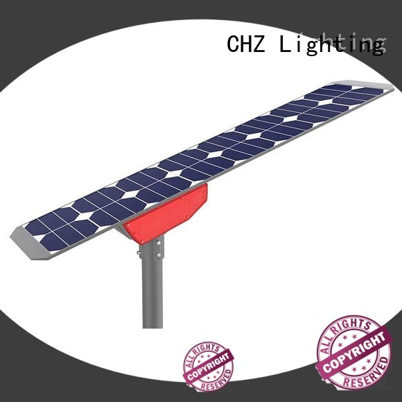 CHZ ENEC approved solar street light price list manufacturer bulk production