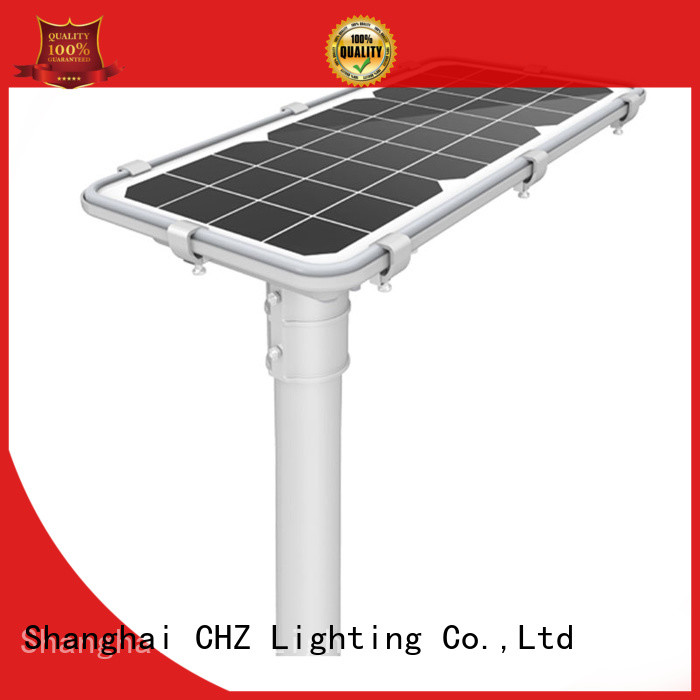 CHZ solar street light outdoor company for sale