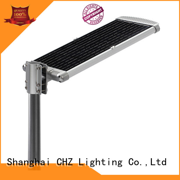 efficiency solar street lamp factory price school