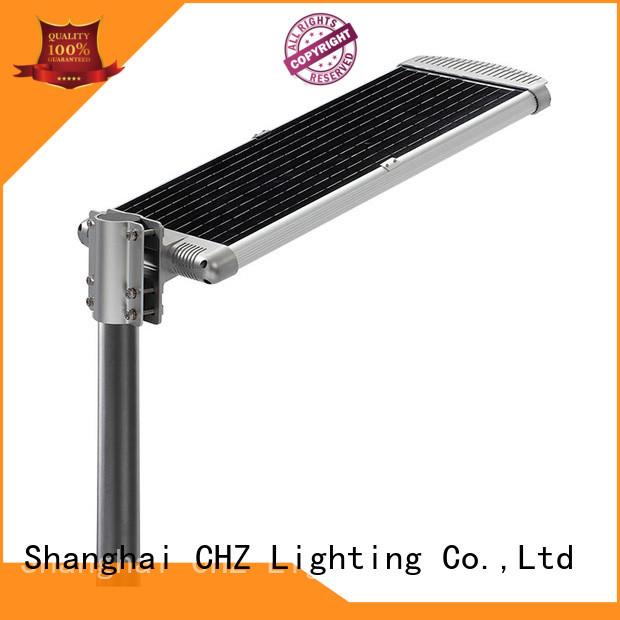 efficiency solar street lamp factory price school