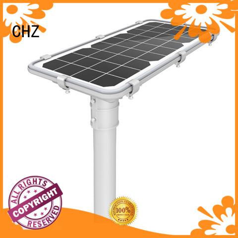 CHZ best solar street lighting supply for remote area