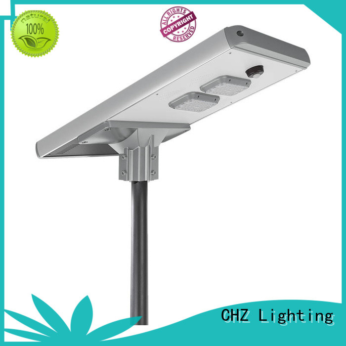 CHZ solar powered street lamp products mountainous