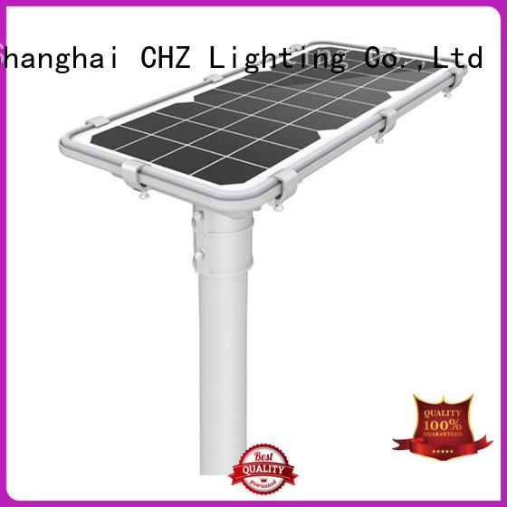 CHZ ce certificate solar street lamp for sale yard