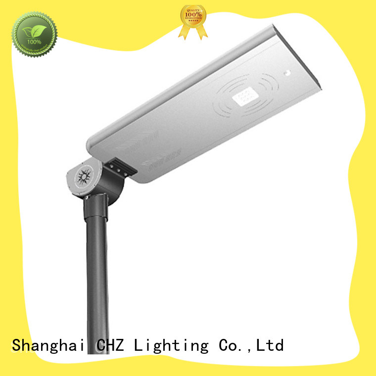 CHZ best solar powered street lights fabrication yard