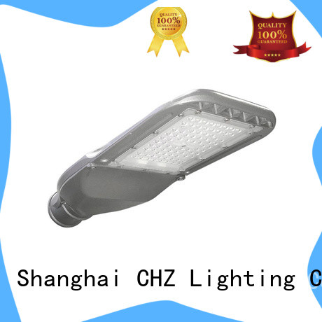 CHZ led street light fixture suppliers yard