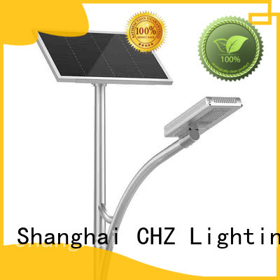 CHZ China solar powered street lights for sale mountainous