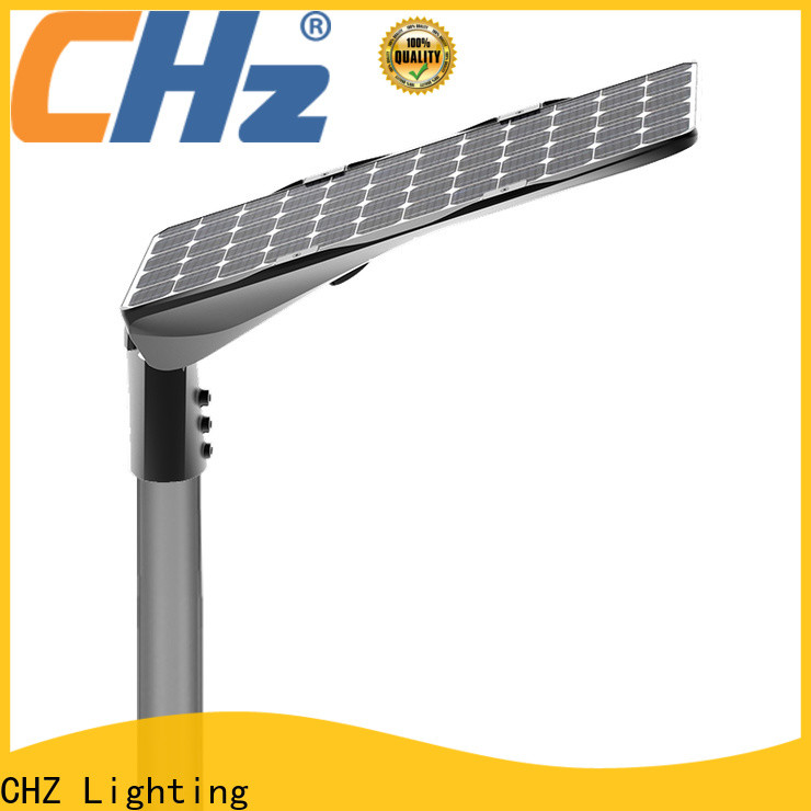 CHZ high quality outdoor solar street lights manufacturer for road