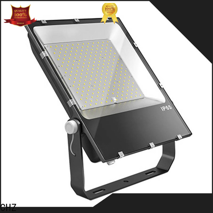 CHZ outdoor flood light fixtures directly sale for exhibition hall
