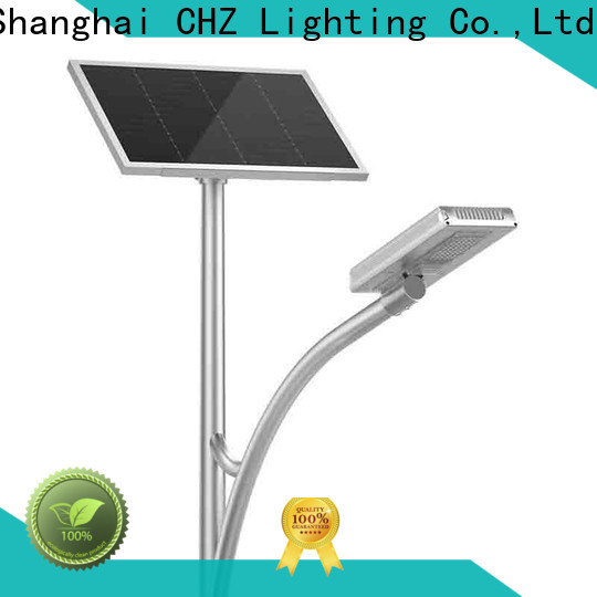 CHZ solar street lights for sale with good price for remote area