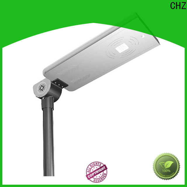 CHZ durable best solar street lighting directly sale for promotion