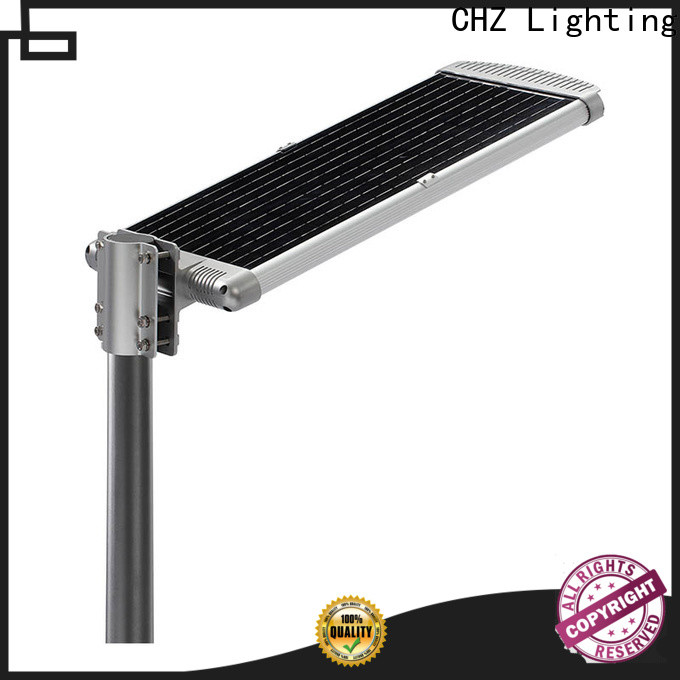 CHZ ENEC approved solar street light price series for remote area