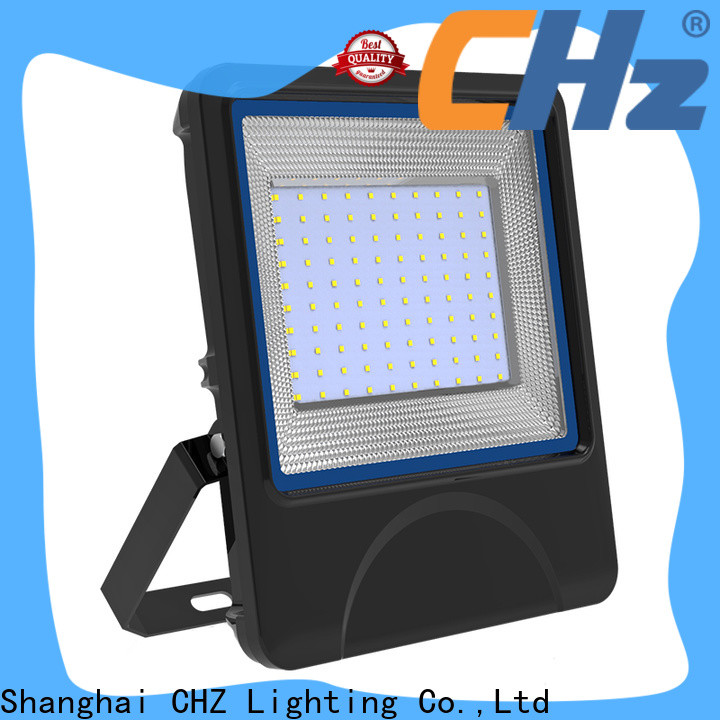 CHZ stable motion sensor flood lights factory direct supply for shopping malls