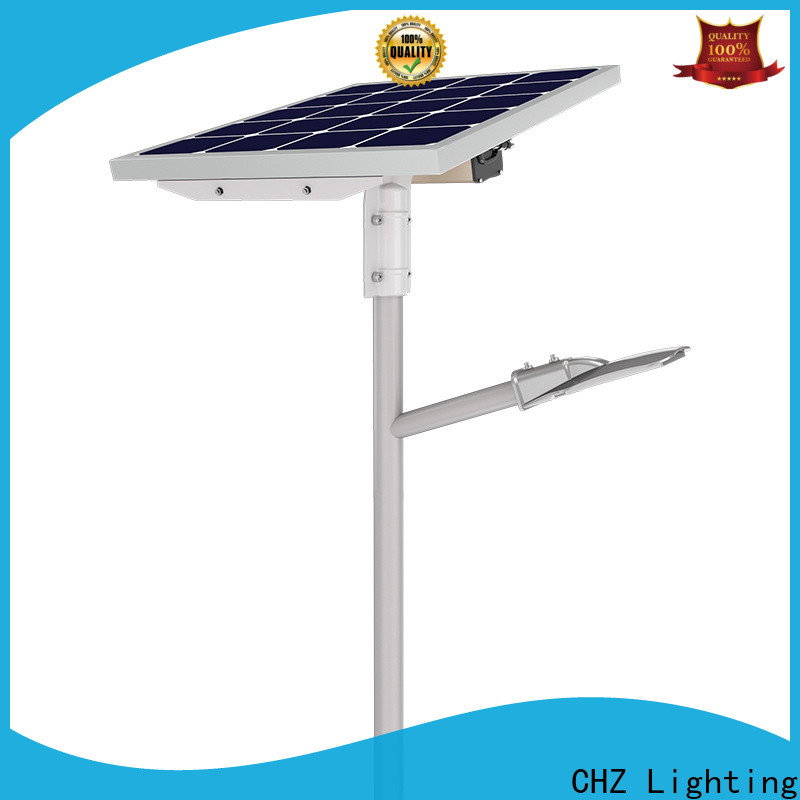 CHZ solar led street lighting directly sale for streets