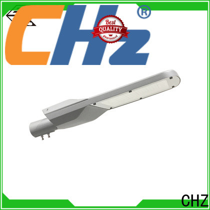 CHZ efficient all in one solar street light price best manufacturer for park road