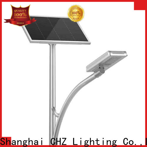 CHZ top solar street light price series for sale