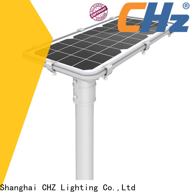 CHZ solar powered led street light best supplier for promotion