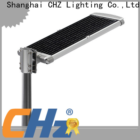 CHZ professional solar led street lighting supply bulk buy