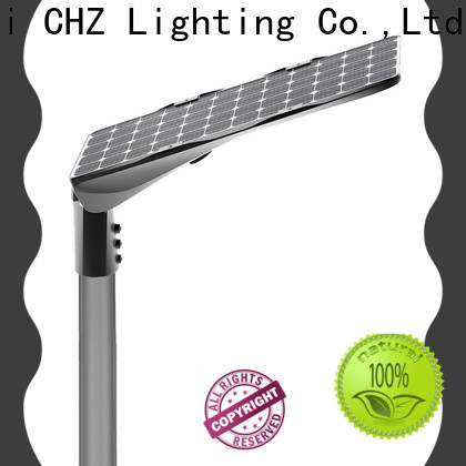 ENEC approved solar lamp post lights suppliers for rural