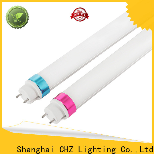 CHZ efficient led tube lighting factory direct supply for factories