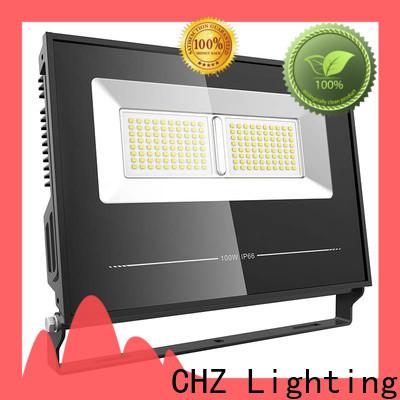 CHZ led flood light fixtures company for playground
