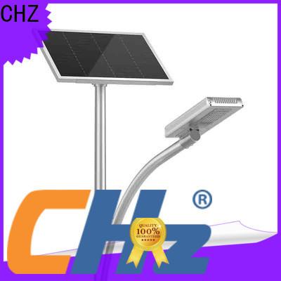 CHZ led solar street lamp supply for rural