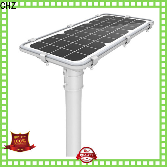 CHZ solar parking lot light from China for road