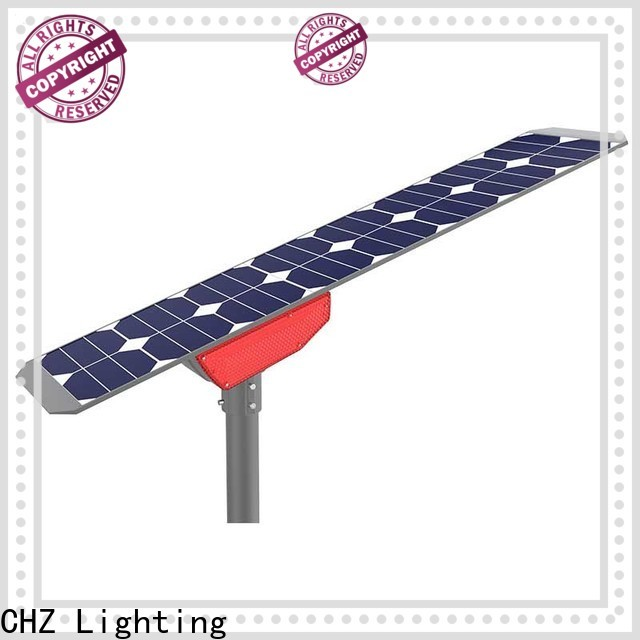 CHZ popular integrated solar led street light inquire now for engineering