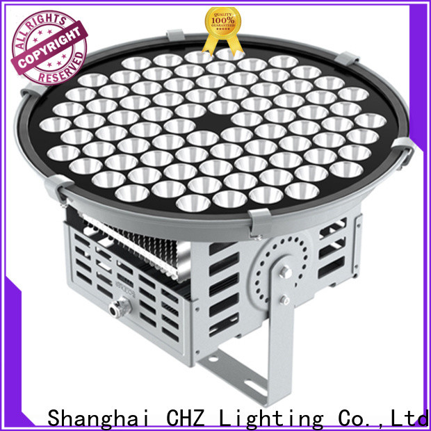 CHZ led stadium floodlights factory direct supply for roadway