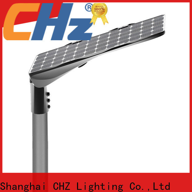 CHZ top quality semi integrated solar street light best supplier for road