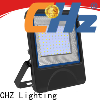 CHZ quality led flood lighting fixtures factory direct supply for building facade and public corridor