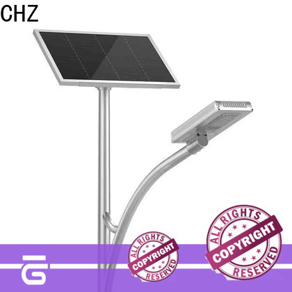 ENEC approved semi integrated solar street light company for park road