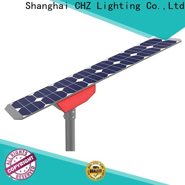 CHZ solar road lights with good price for remote area