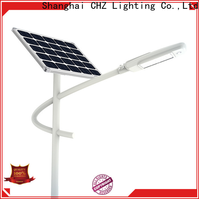 CHZ approved solar led street light supply for road