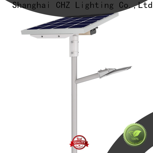 CHZ solar led street light series for school