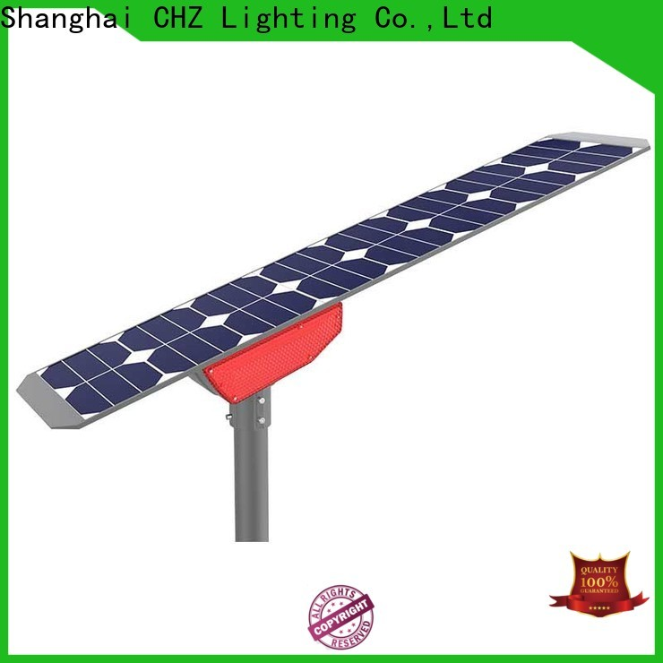 rohs approved outdoor solar street lights factory direct supply for streets