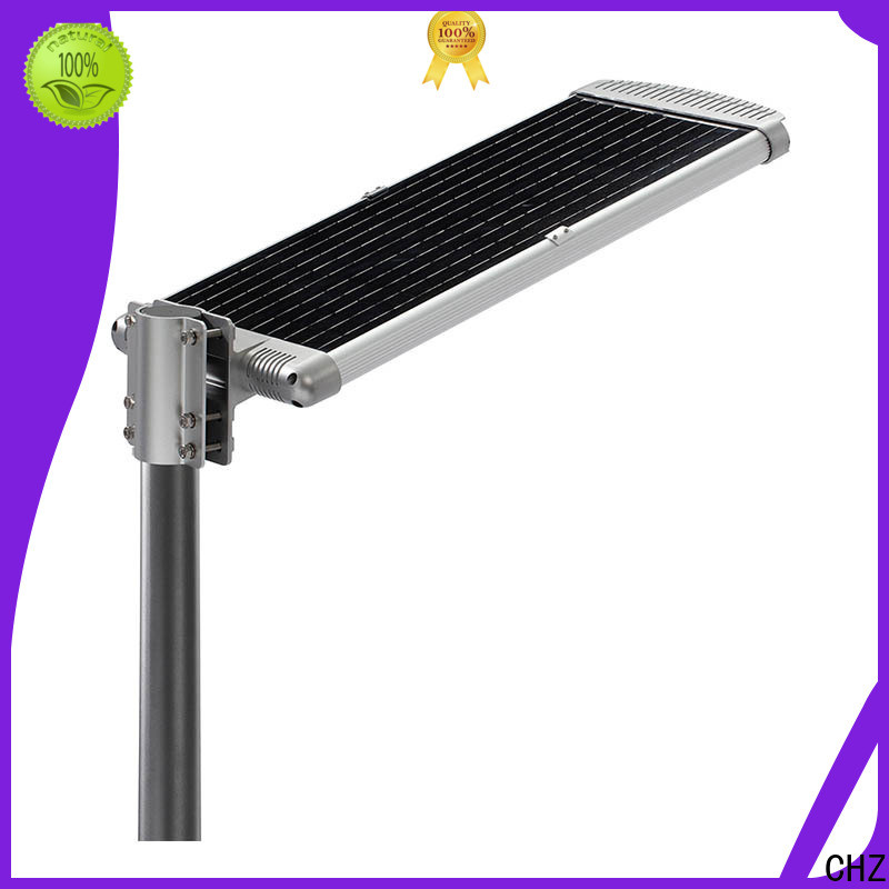 CHZ solar led street lights series for park road