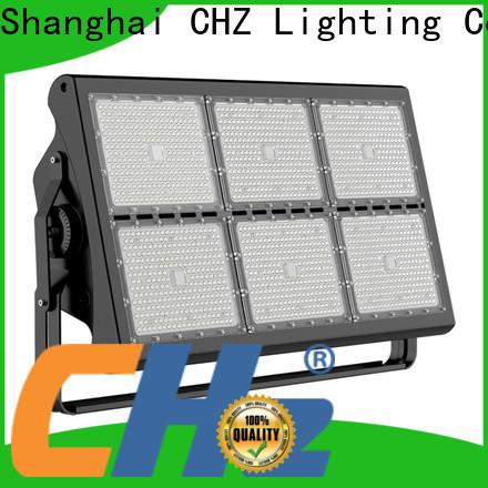 CHZ practical stadium floodlight supplier for outdoor sports arenas